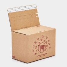 Carton folding box with zipper design