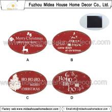 Manufaturer Promoção Presentes de Natal Metal Fridge Magnet