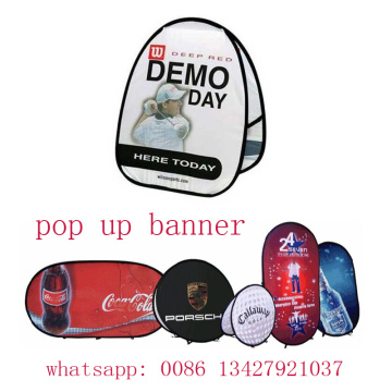 POP UP A-FRAME BANNERS
