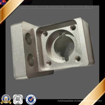 Piezas de aluminio anodizadas trabajadas a máquina CNC de alta precisión de encargo