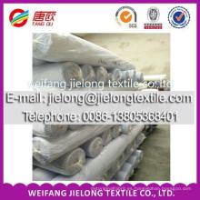 2014 colores de moda tela 100% sólida de la tela de la tela cruzada del algodón en weifang
