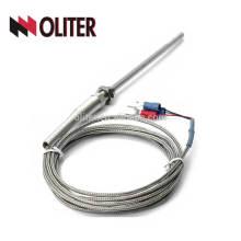 electric furance rlatinum thermal resistance RTD thermocouple temperature wzp pt100 pt1000 sensor
