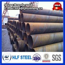 ASTM A572 GrB Tuyau en acier à joint en spirale