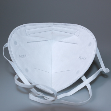 Masque pliable Kn95 de protection de filtre à quatre couches