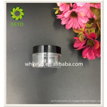 20g melhor venda creme para o rosto creme para os cuidados de cosméticos frasco de plástico transparente