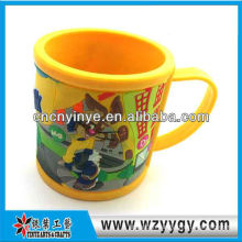 Customized 3D pvc cup for gift