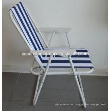 Folding beach chair garden,Low Back Spring Folding Garden Chair