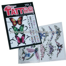 New fashion tattoo manuscrip tattoo magazine tattoo book supply