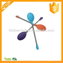 La más vendida cuchara duradera de la herramienta de café del silicón