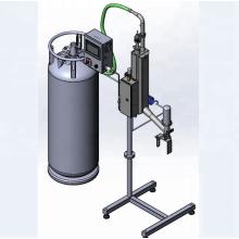 Máquina de inyección de nitrógeno líquido Willman para botellas de PET