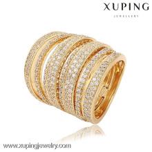 13748-Xuping définit le nouveau diamant 4 PCS anneaux de bijoux pour le mariage