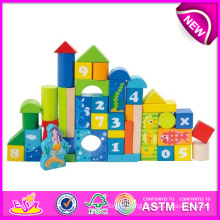 Hot New Product for 2015 Kids Toy Wooden Building Block, Cheap Toy Building Block, Building Block Bricks Construct Toy W13b012