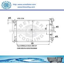 Car Radiator For Toyota Corolla CE121 2005 OEM:164006A290