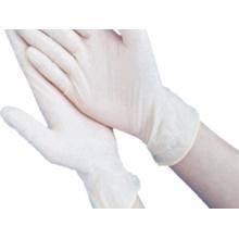 Gants jetables en latex d'hôpital médical