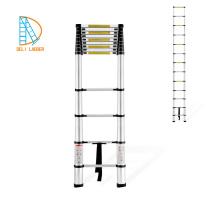 Escalera telescópica de aluminio de 3.8M como se ve en TV EN131-6