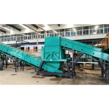 Línea automática de clasificación de residuos sólidos de la planta de clasificación de basura urbana para clasificar msw con CE ISO