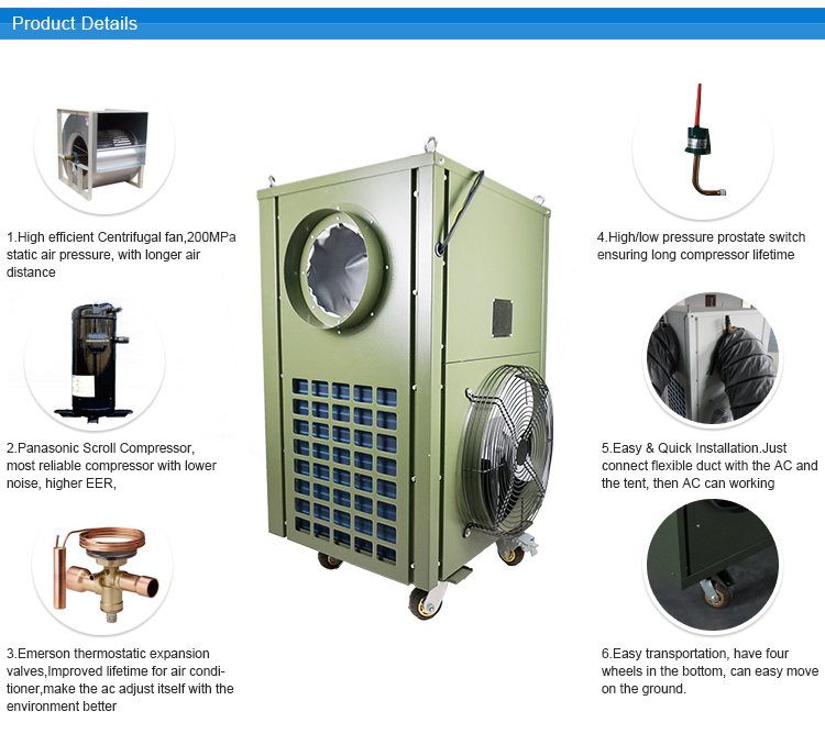 military portable air conditioner