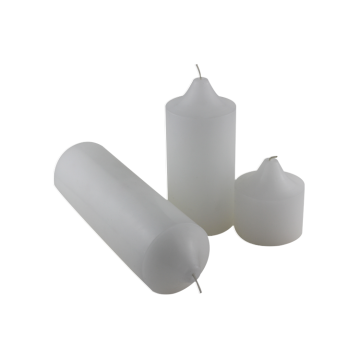 White Pillar Candle OEM accettato White Pillar Candle