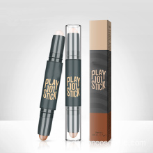 Doppelter Highlighter Concealer Contour-Make-up-Stift