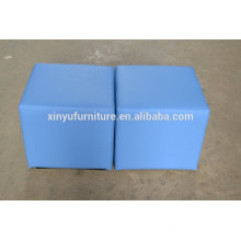 PU leather cover ottoman for wedding party XYN453