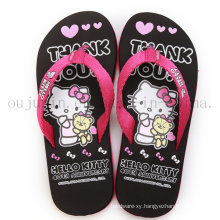 Custom Print EVA Home Women Slippers Flip Flop