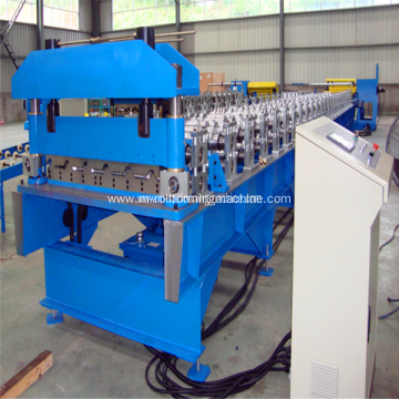 Wall and roof panel roll forming machine