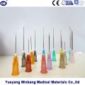 Aiguille d'injection hypodermique médicale jetable pour la seringue (ENK-HN-001)