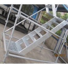 Kwikstage Scaffolding System Used in Construction