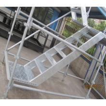 Sistema de Andaimes Kwikstage Usado na Construção