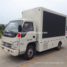 2017 Chine bas prix haute qualité foton conduit camion de scène mobile
