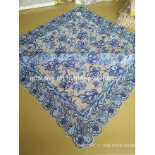 St16-24 Синий Цвет Кружевной Ткани