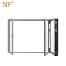 Foshan aluminum alloy exterior according folding doors