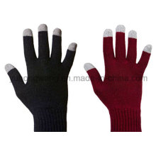 Warm Knitted Acrylic Touch Screen Magic Gloves for Smartphone