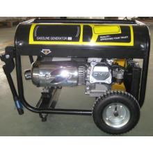 Gerador a gasolina com silenciador de motocicleta