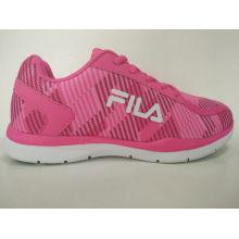 Zapatos corrientes al aire libre de la gimnasia rosada de las mujeres de la manera