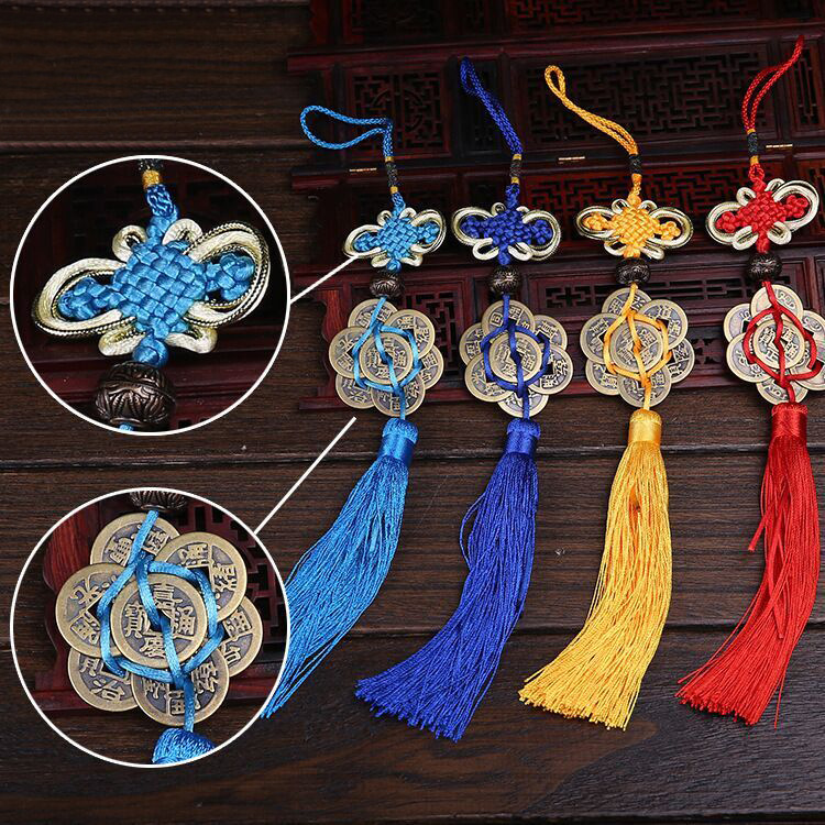 colorful Chinese knot