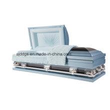 Cercueil bleu et noir (18280111)