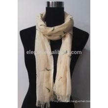 Bufanda de algodón de impresión de alta calidad