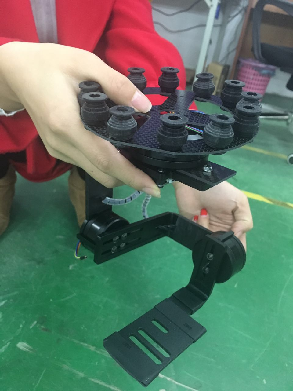 Mirroless Gimbal Drone
