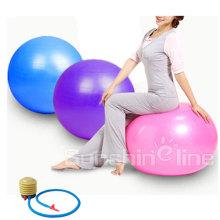 Exercise Ball (Multiple Sizes) for Fitness Balance & Yoga