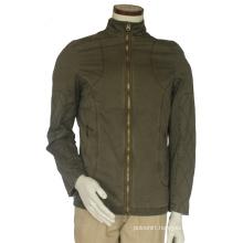 Stylish Mens Blackout Lightweight Bomber Jacket Slim Fit Army Green Jacket Without Hood Jacket Men′s Coat Wholesale