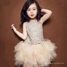 Vestidos de casamento elegante para as crianças Moda Evening Girl Dress Party Baby Dress