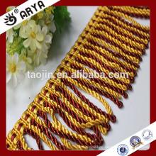 Hangzhou Taojin Textile Quaste Vorhang Ordnungen Perlen Quaste Fransen für Vorhang