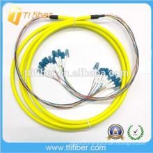 LC 12 colors Fiber Fanout Cable
