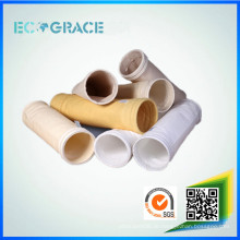 Abfallverbrennung Rauchgasfilterbare korrosionsbeständige PTFE / Teflon Staubfilterbeutel