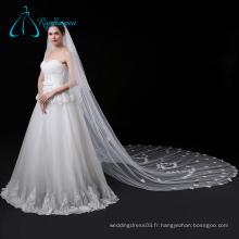 Tissu de haute qualité Tulle Petal Voile de mariage Long Cathedral