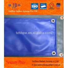made in China high strength pvc coated tarpaulin