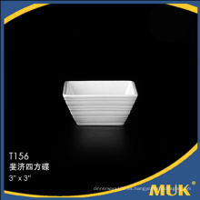 Eurohome fabricante nuevos platos de cerámica de diseño cuadrado