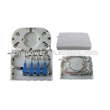 FTTH оптоволоконная оконечная коробка, оптоволоконная малая коробка, оптоволоконная клеммная коробка Материал ABS
