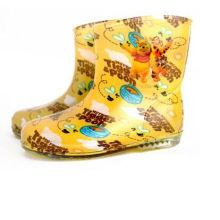 Новый дизайн модный стиль девушки дети обувь Rainboots ПВХ